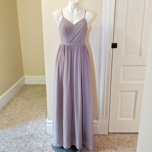 AZAZIE light dusty purple formal dress size 4